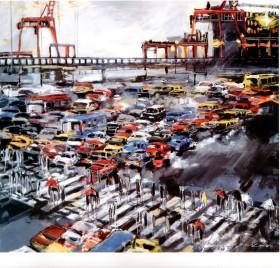 7.-Lluvia-en-el-puerto-120x130cm